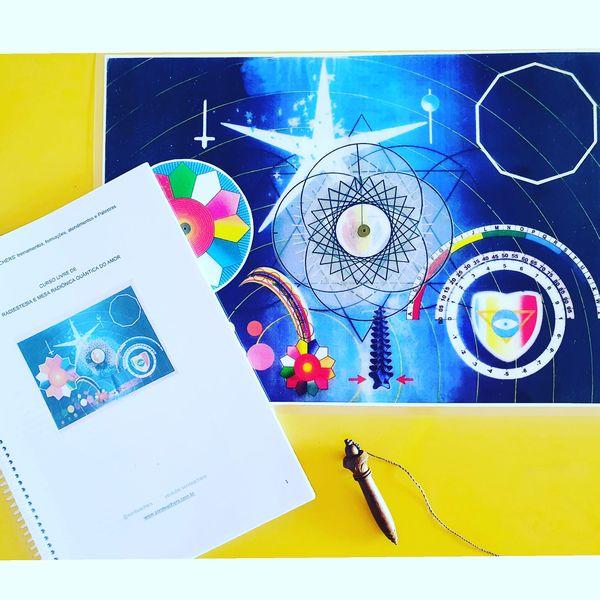 Imagem principal do produto Curso Mesa Radionica Quantica Psicotronica