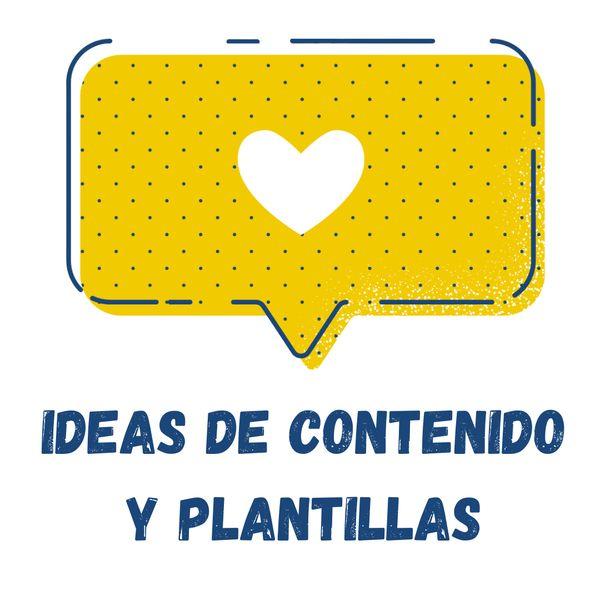 Imagem principal do produto Ideas de Contenido y Plantillas