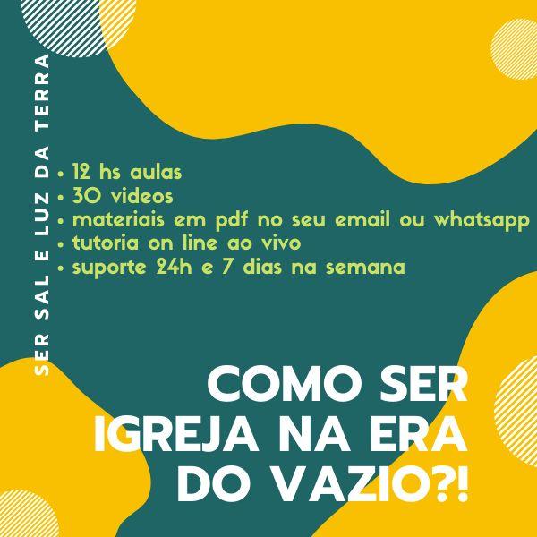 Imagem principal do produto COMO SER IGREJA NA ERA DO VAZIO - ?-1