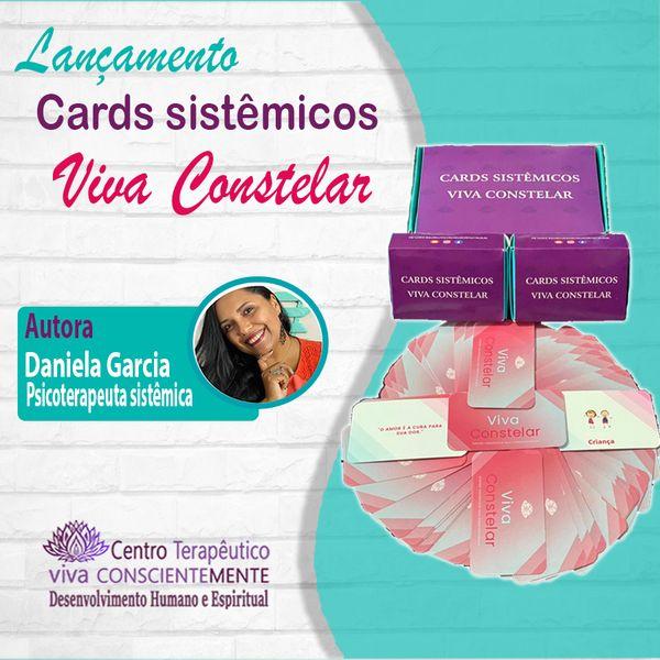 Imagem principal do produto E-book Manual Cards sistêmicos Viva Constelar