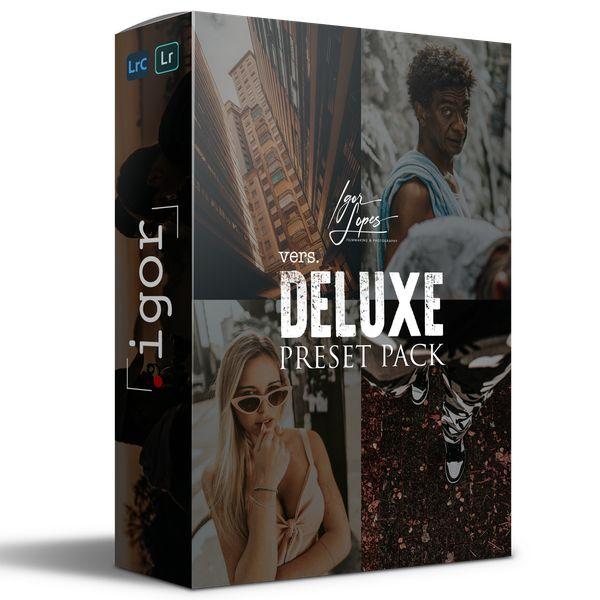 Imagem principal do produto DELUXE - Preset Pack (by Igor Lopes)