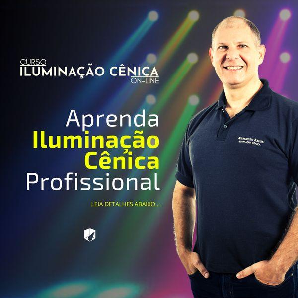 Imagem principal do produto Iluminação Cênica On-line: Arsenal da Iluminação