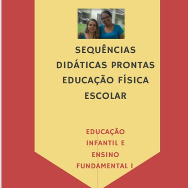 Imagem principal do produto Ebook com sequências didáticas de Educação Física escolar para o ensino remoto.