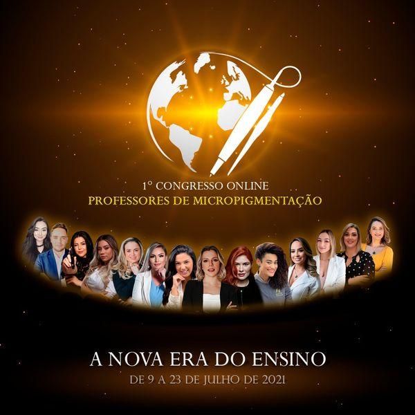 Imagem principal do produto 1º Congresso Online | Professores de Micropigmentação - A Nova Era do Ensino