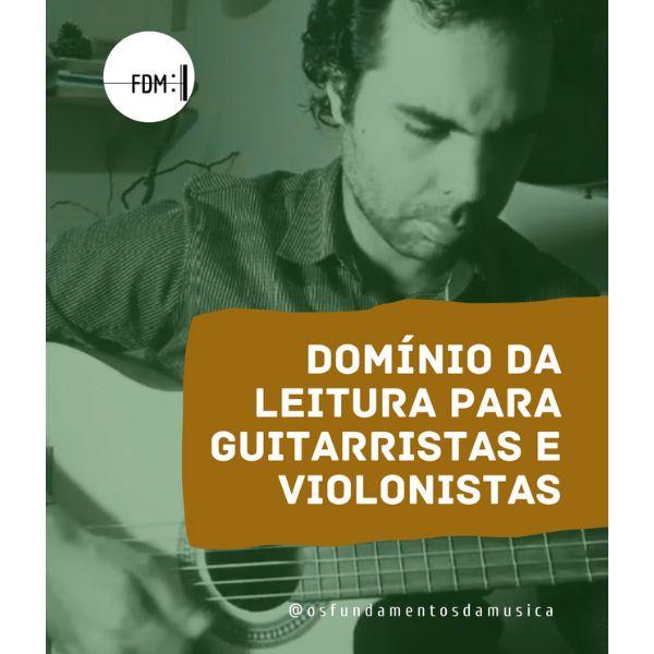 Imagem principal do produto Domínio da leitura para guitarristas e violonistas