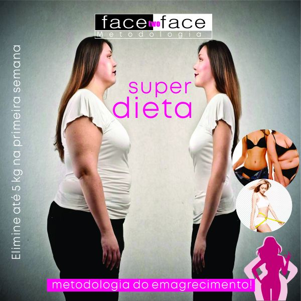 Imagem principal do produto Face Two Face Metodologia de Emagrecimento