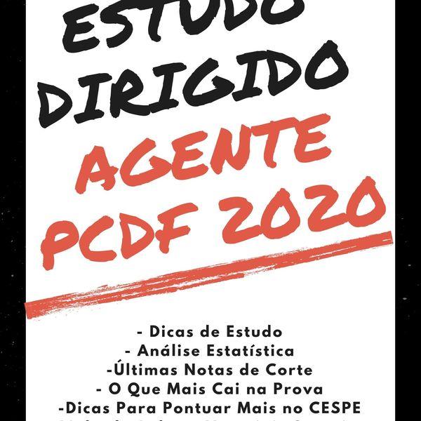 Imagem principal do produto Ebook Estudo Dirigido Agente PCDF 2020 Pós-Edital