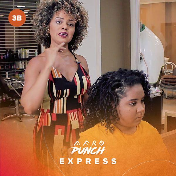Imagem principal do produto Afro Punch Express - Cabelo Cacheado 3B