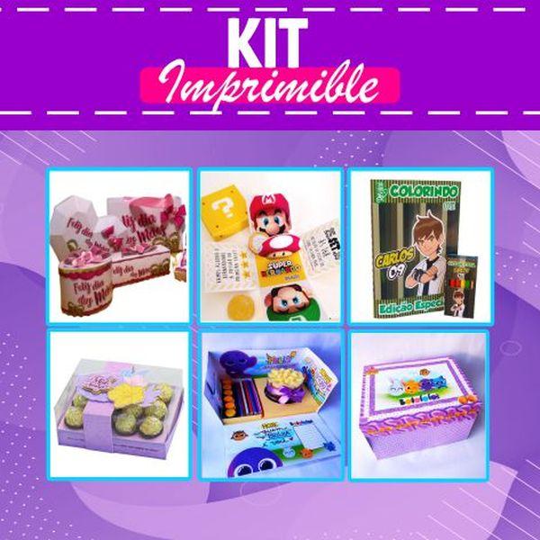 Imagem principal do produto KIT COMPLETO 100.000 ARCHIVOS IMPRIMIBLE 2021