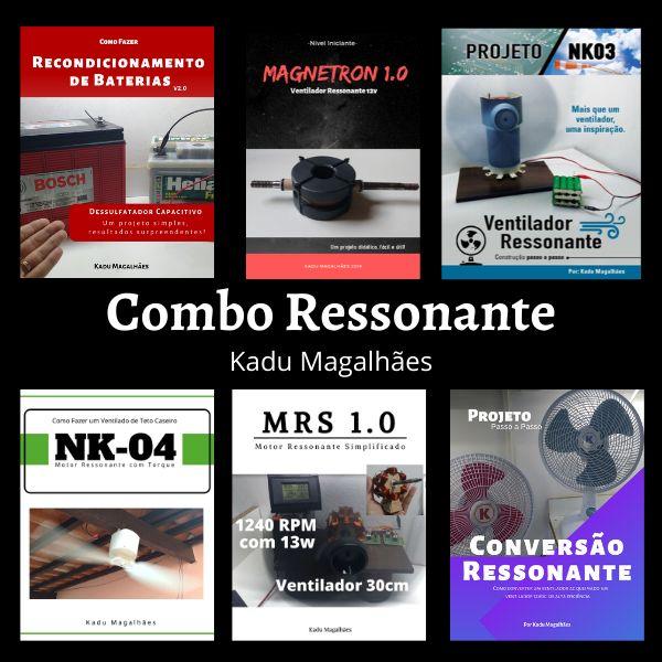 Imagem principal do produto Combo Ressonante - A Coleção Completa dos Projetos Ressonantes