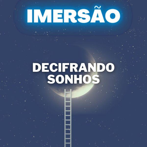 Imagem principal do produto Imersão Decifrando Sonhos