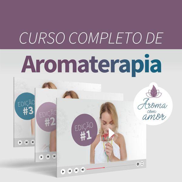 Imagem principal do produto Curso completo de Aromaterapia