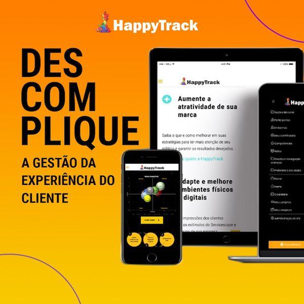 Imagem principal do produto Estratégias e Gestão da Experiência do Cliente - Método HappyTrack®