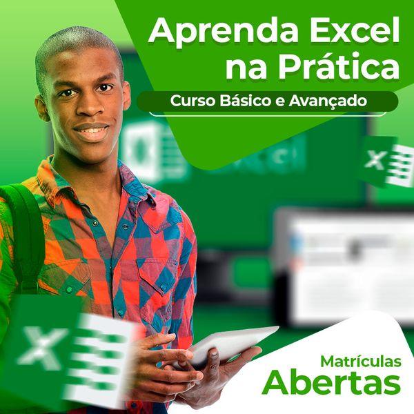 Imagem principal do produto Curso Excel 2016 do Básico ao Avançado