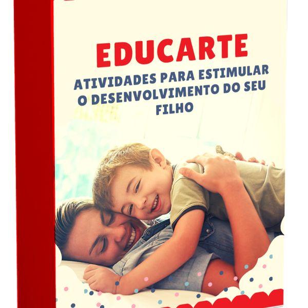 Imagem principal do produto Educarte- Atividades para estimular o desenvolvimento do seu filho