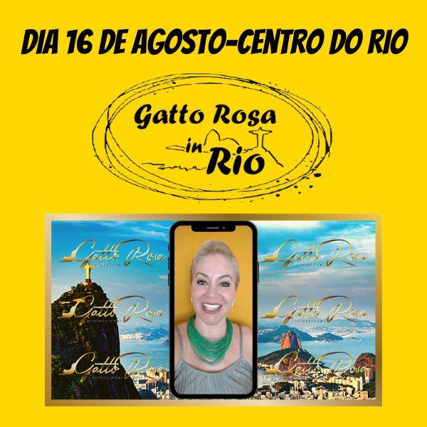 Imagem principal do produto Gatto Rosa In Rio