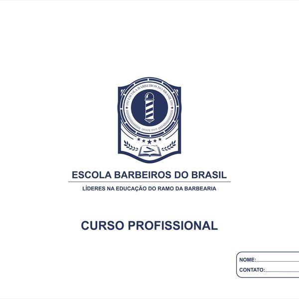 Imagem principal do produto Apostila Curso Profissional de Barbeiro