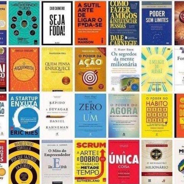 Imagem principal do produto Combo com + de 20 livros apenas R$ 49,90