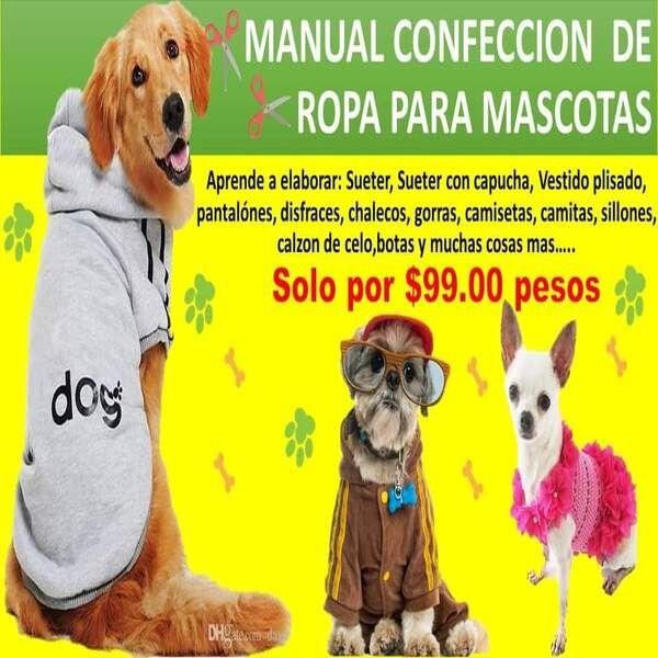 Imagem principal do produto MOLDES PARA HACER ROPA DE PERROS