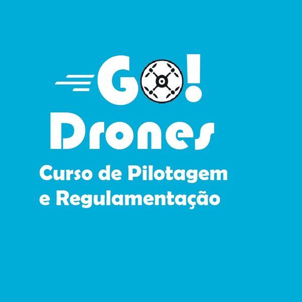 Imagem principal do produto GO!DRONES - Curso de Pilotagem e Regulamentação de Drones