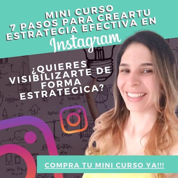 Imagem principal do produto 7 Pasos para crear tu estrategia efectiva en Instagram