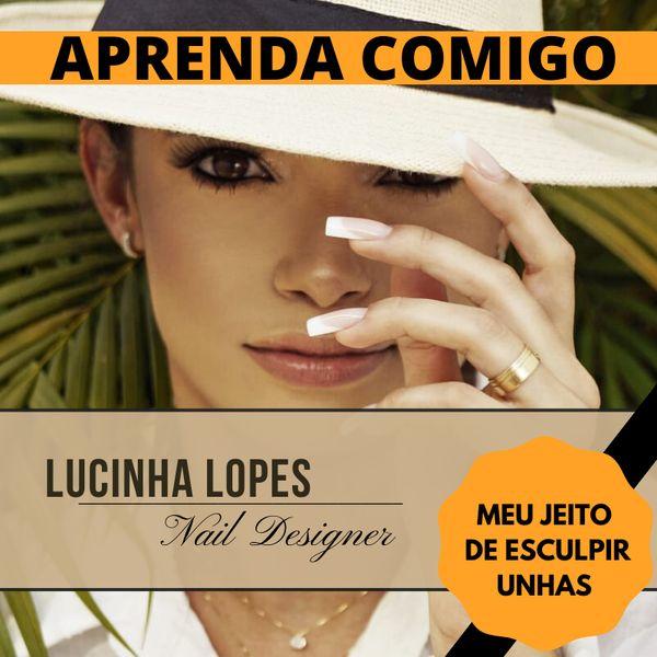 Imagem principal do produto CURSO DE UNHA EM GEL - JEITO LUCINHA LOPES DE ESCULPIR