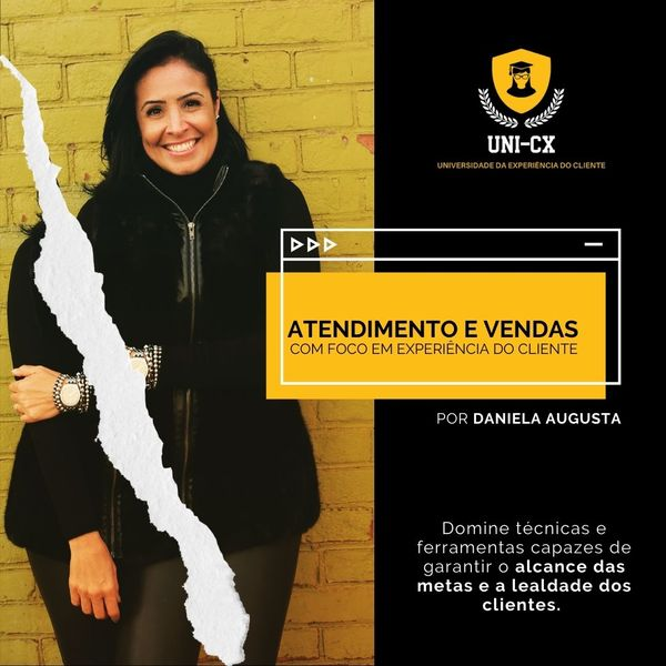 Imagem principal do produto ATENDIMENTO E VENDAS COM FOCO EM CX