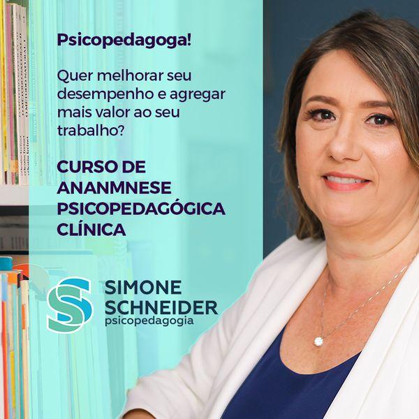 Imagem principal do produto Curso Anamnese Psicopedagógica Clínica