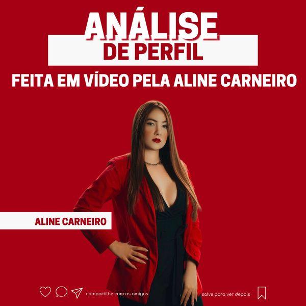 Imagem principal do produto Análise de Perfil feita em Vídeo pela Aline Carneiro