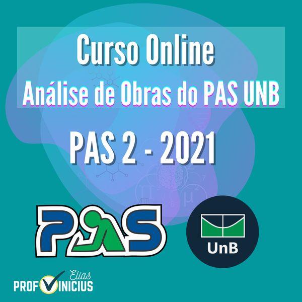Imagem principal do produto Curso de Análise de Obras do PAS UNB - 2ª Etapa - 2021