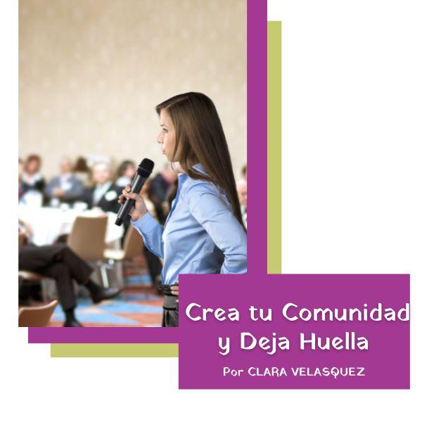 Imagem principal do produto Crea tu Comunidad y Deja Huella