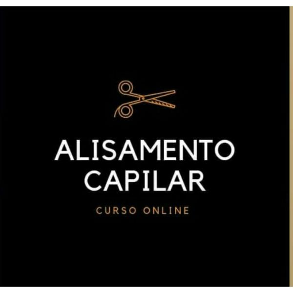 Imagem principal do produto CURSO DE ALISAMENTO CAPILAR