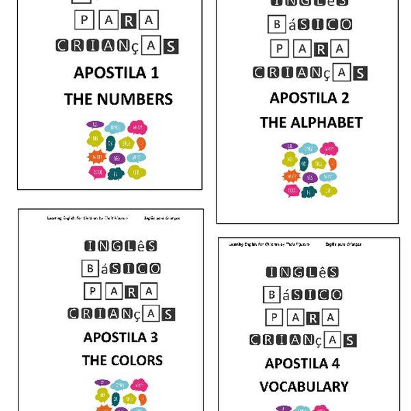 Imagem principal do produto Curso Básico de Inglês para Crianças