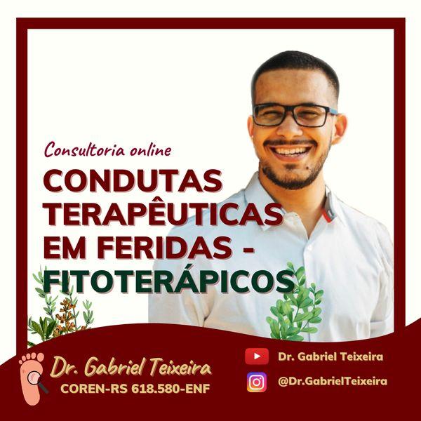 Imagem principal do produto Condutas Terapêuticas em Feridas - Fitoterápicos: Consultoria On-line