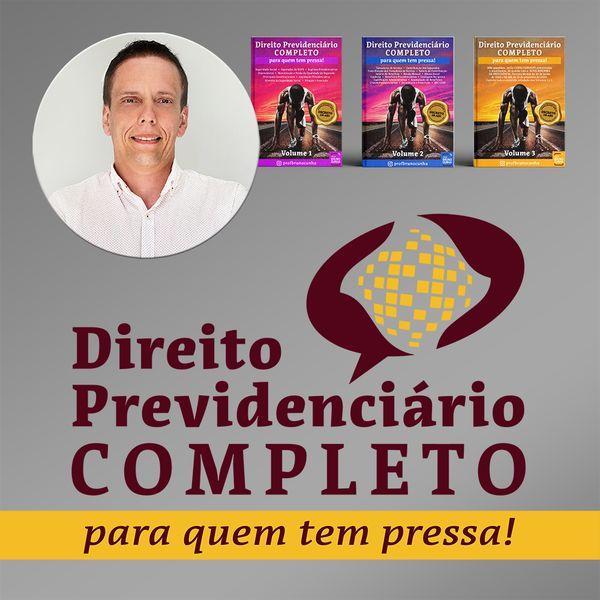 Imagem principal do produto Direito Previdenciário COMPLETO para quem tem PRESSA!