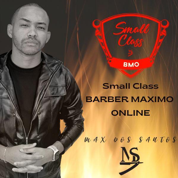 Imagem principal do produto Small Class BMO - Curso de Aperfeiçoamento para Barbeiros