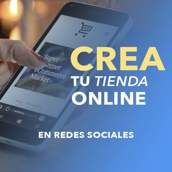 Imagem principal do produto Crea tu Tienda Online en Redes Sociales