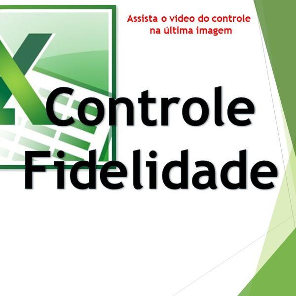 Imagem principal do produto Cartão Fidelidade De Clientes - Excel Planilhas Avançadas