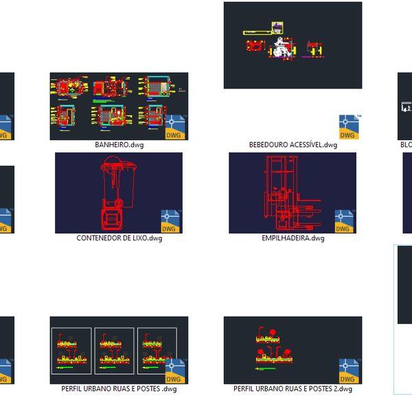 Imagem principal do produto Blocos e famílias dos meus projetos de arquitetura