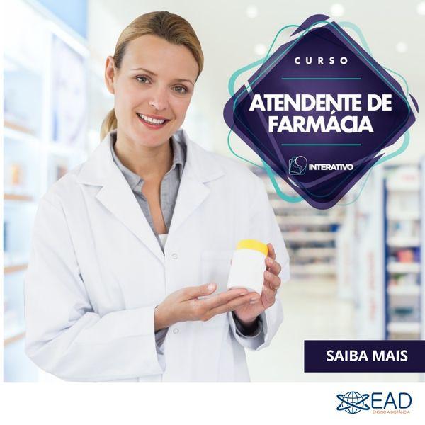 Imagem principal do produto Curso de Atendente de Farmácia