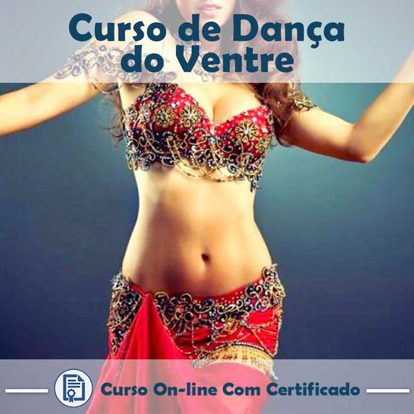 Imagem principal do produto Curso sobre Dança do Ventre