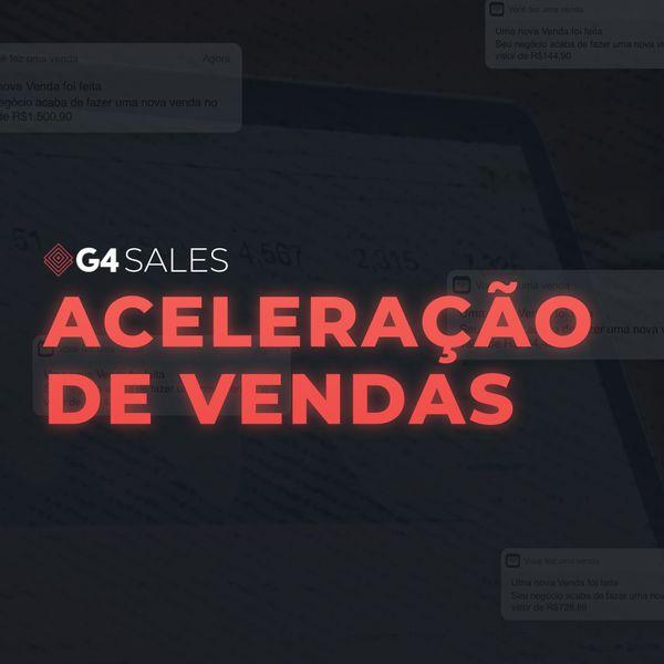 Imagem principal do produto G4 Sales - Aceleração de Vendas