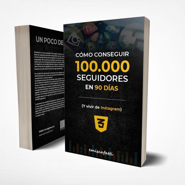 Imagem principal do produto Cómo Conseguir 100,000 Seguidores en 90 Días