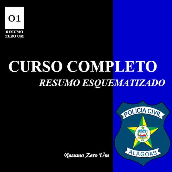 Imagem principal do produto CURSO COMPLETO para Escrivão de Polícia PC/AL
