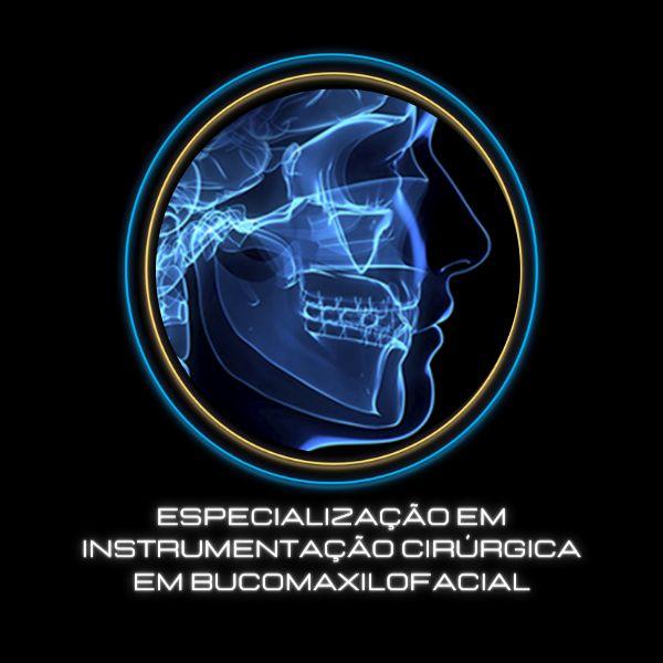 Imagem principal do produto INSTRUMENTAÇÃO CIRÚRGICA - ESPECIALIZAÇÃO EM BUCOMAXILOFACIAL