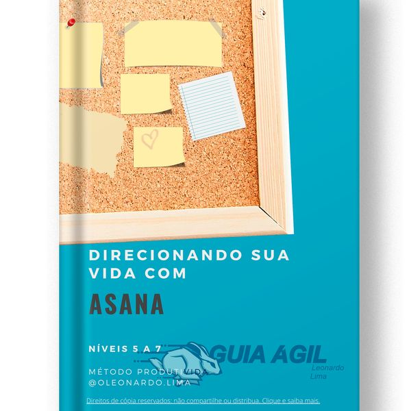 Imagem principal do produto Direcionando sua vida com o Asana