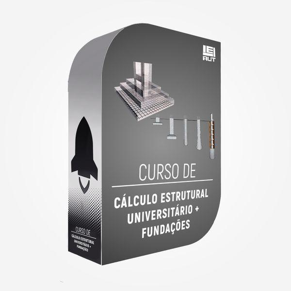 Imagem principal do produto Fundações + Cálculo estrutural universitário