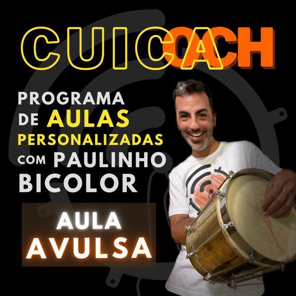 Imagem principal do produto CUICOACH ::::: Personal Cuíca Trainer ::::: Aula avulsa [PROMO]
