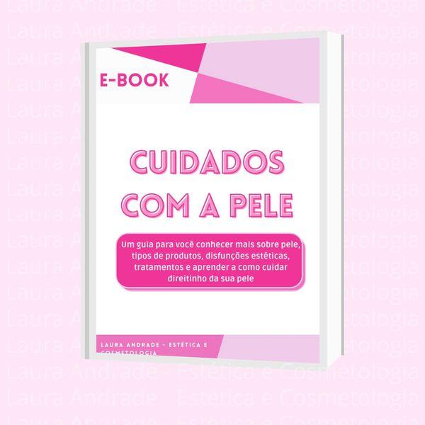 Imagem principal do produto E-BOOK CUIDADOS COM A PELE - Tudo sobre o mundo do skincare