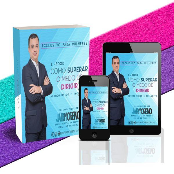 Imagem principal do produto E-book Como Superar o Medo de Dirigir - Jair Moreno
